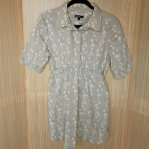 Gap Maternity ¾ button cotton/poly tunic.  Medium